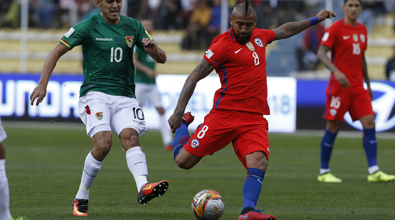 How to Watch Chile vs. Ecuador: World Cup Qualifier Live Stream, Time, TV Channel