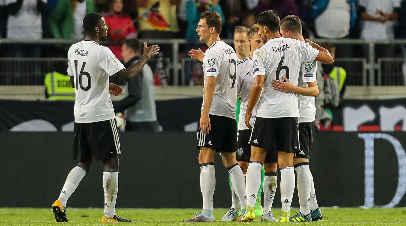 Germany is on the cusp of qualifying for the 2018 World Cup