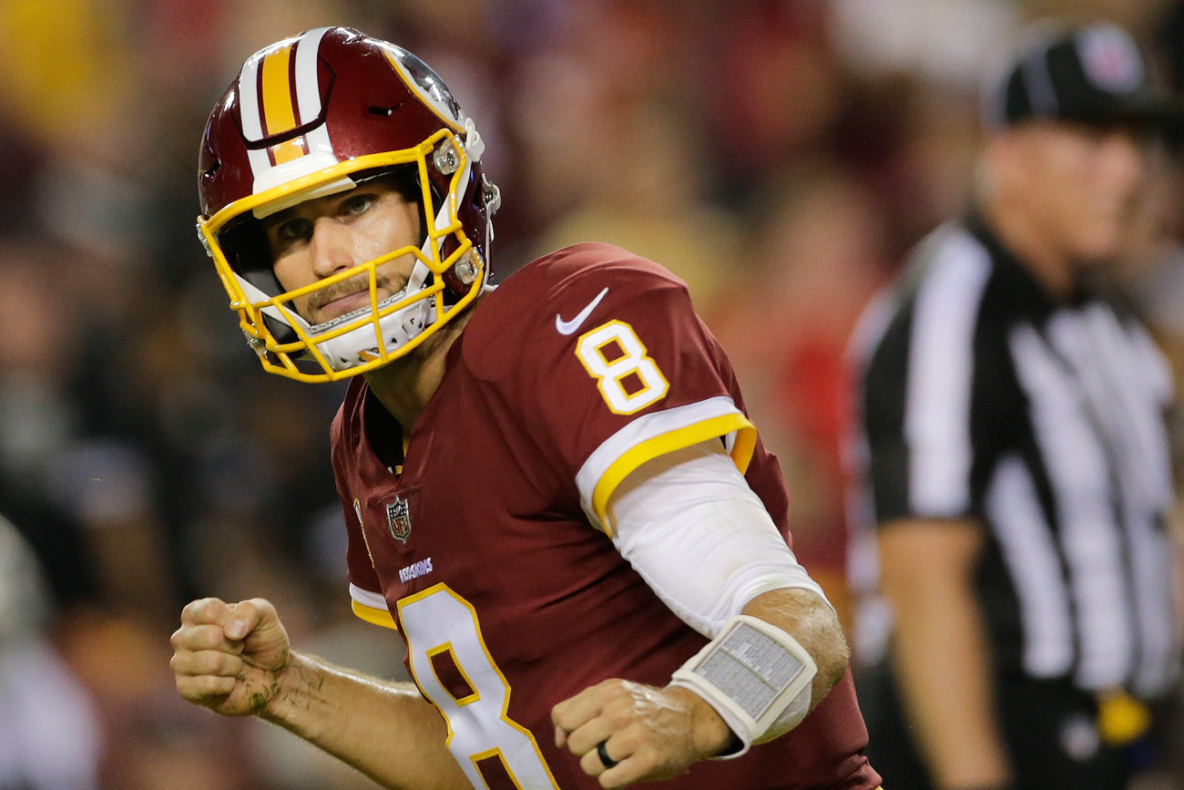 Kirk Cousins has led Washington to a 19-15-1 record since taking over as starter to begin the 2015 season.