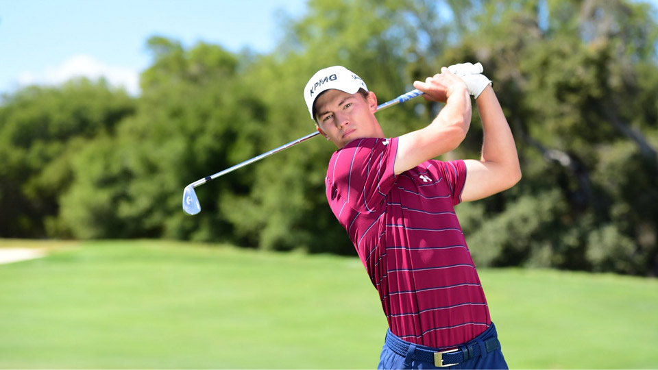 Maverick McNealy's sponsors include Under Armour, Callaway and KPMG.