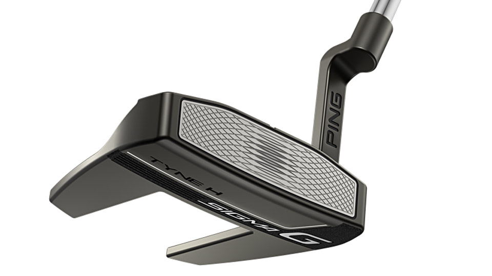 The Tyne H's Anser-style hosel is designed to fit strokes with slight arcs.