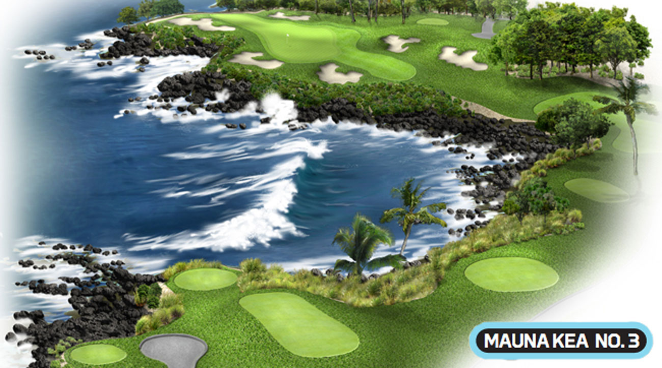 "The 3rd hole at the Mauna Kea is not the ""aloha"" that tourists typically expect."