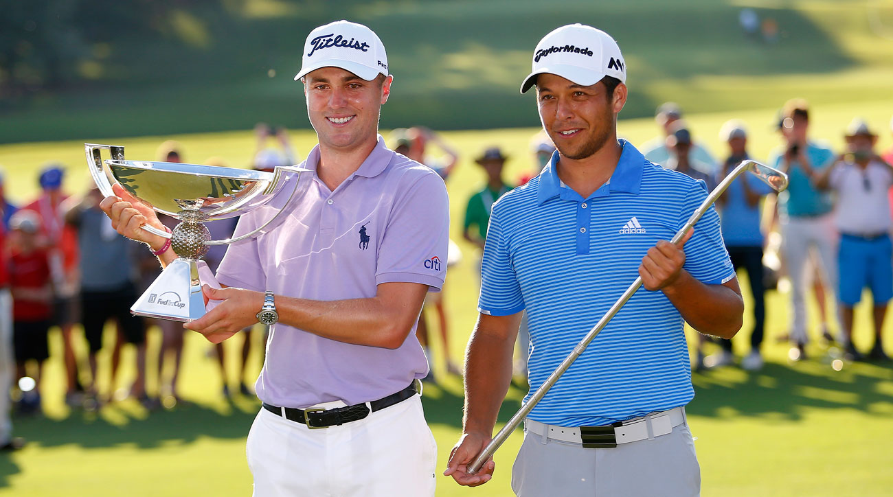 Thomas, 24, and Schauffele, 23, each took home some season-ending hardware.