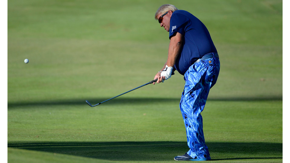 John Daly birdied his final hole to make his first PGA Tour cut since 2015.