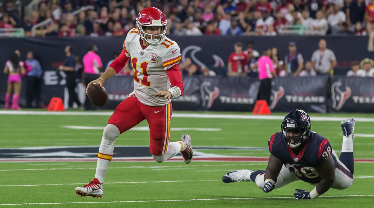 Behind Alex Smith, the Chiefs have reeled off five straight wins to start the season and are the NFL's only remaining unbeaten team.