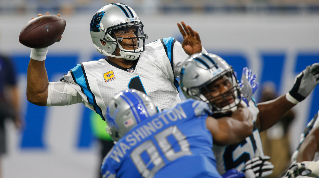 Cam Newton has now thrown for three touchdowns in back-to-back weeks, both resulting in wins for the Panthers.