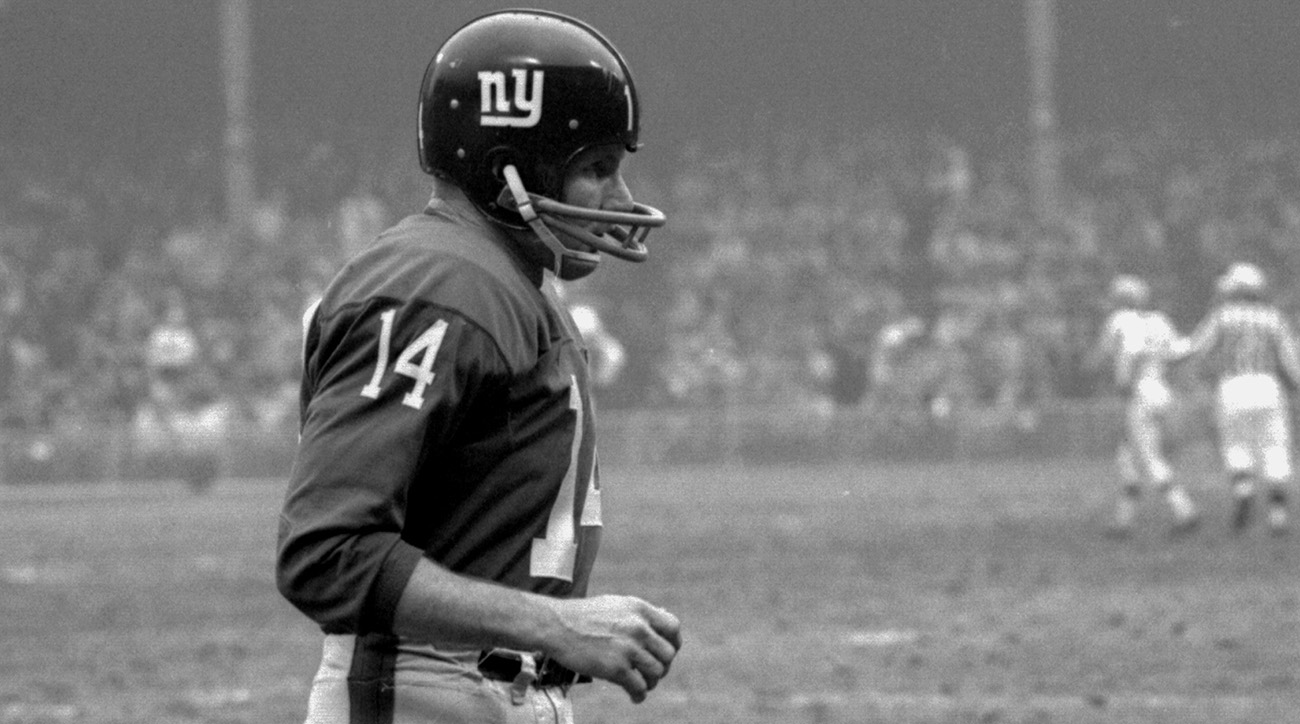 Giants QB Y.A. Tittle