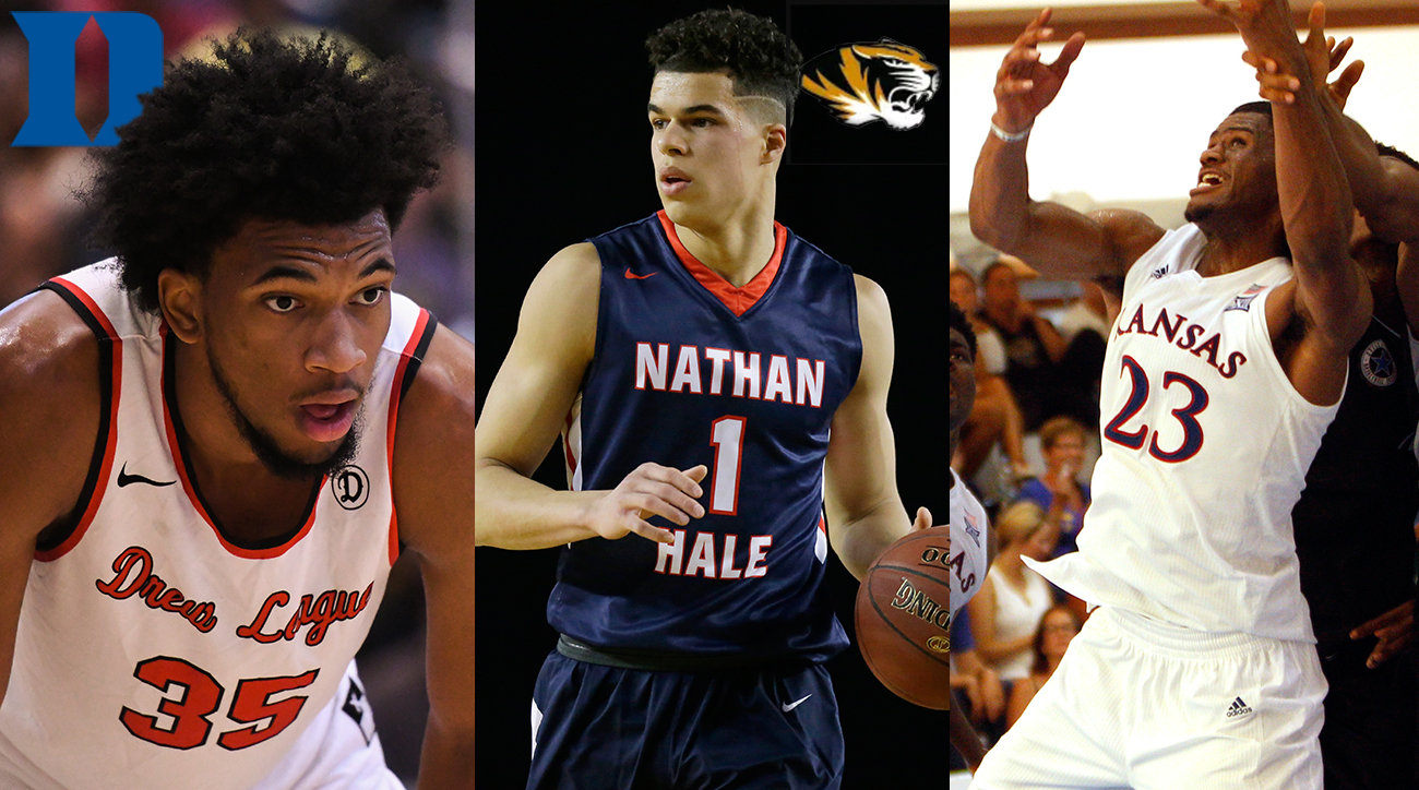 College basketball freshman rankings: Michael Porter, Marvin Bagley, Collin Sexton, Hamidou Diallo
