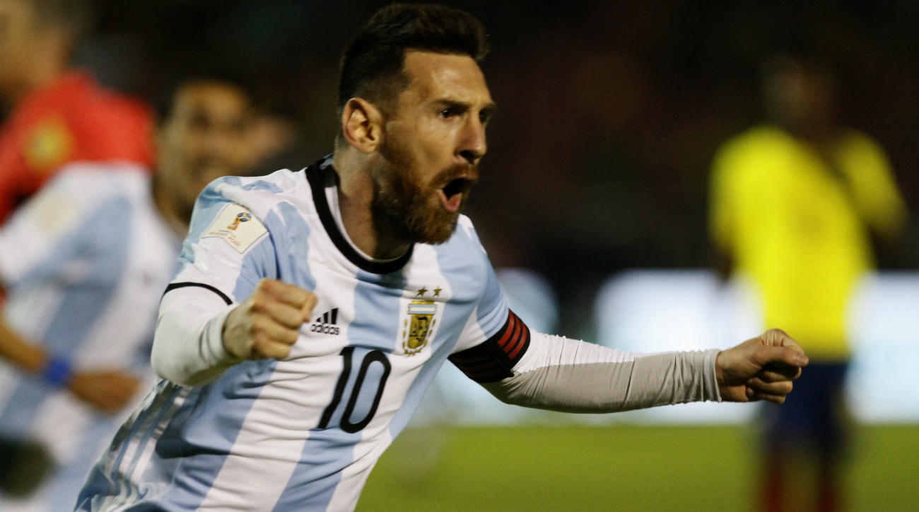 South America World Cup qualifiers: Messi nets hat trick (VIDEO) | SI.com