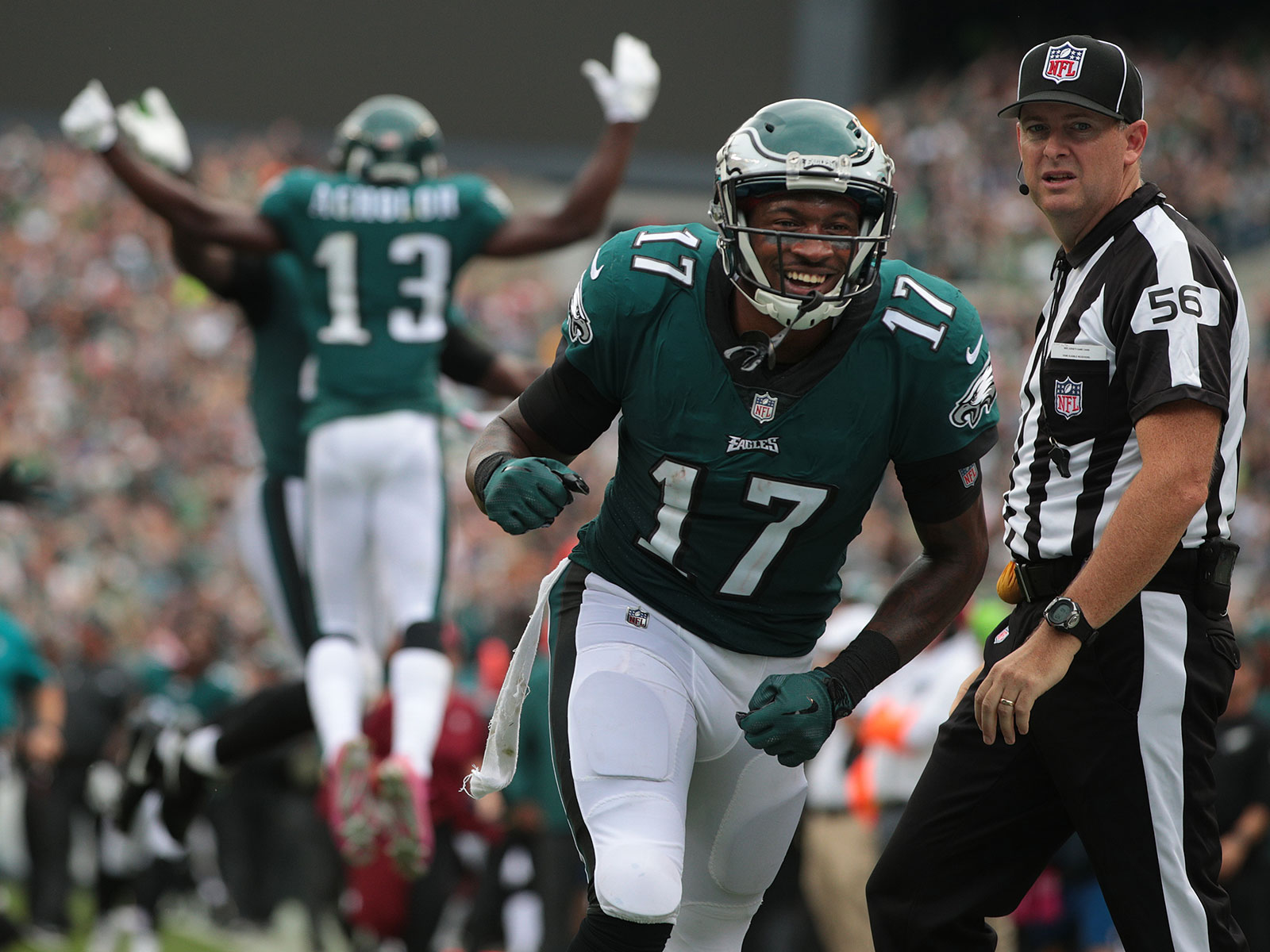 Alshon Jeffery has been a highly effective NFL wideout, so how good could his brother have been?