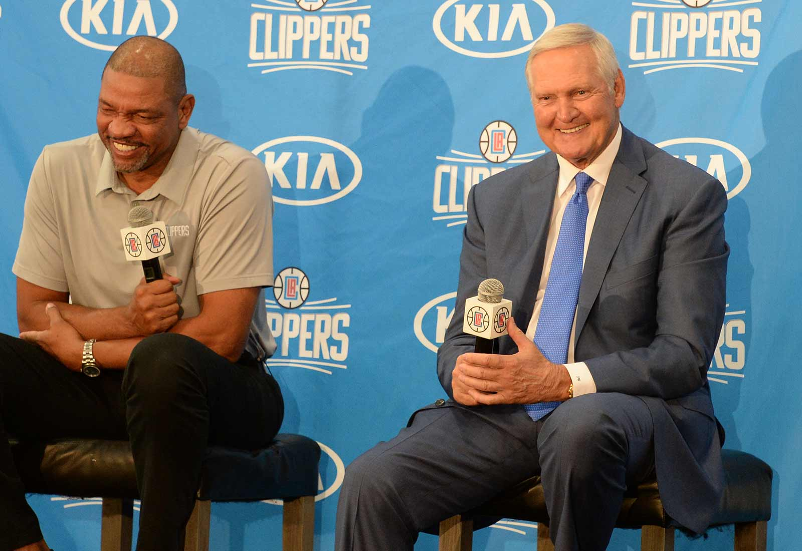 Doc Rivers and Jerry West