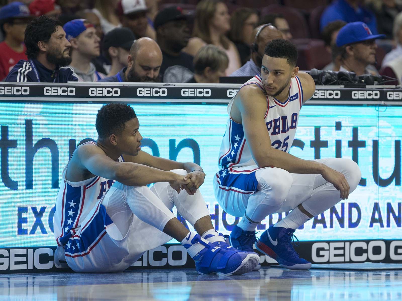 Markelle Fultz and Ben Simmons