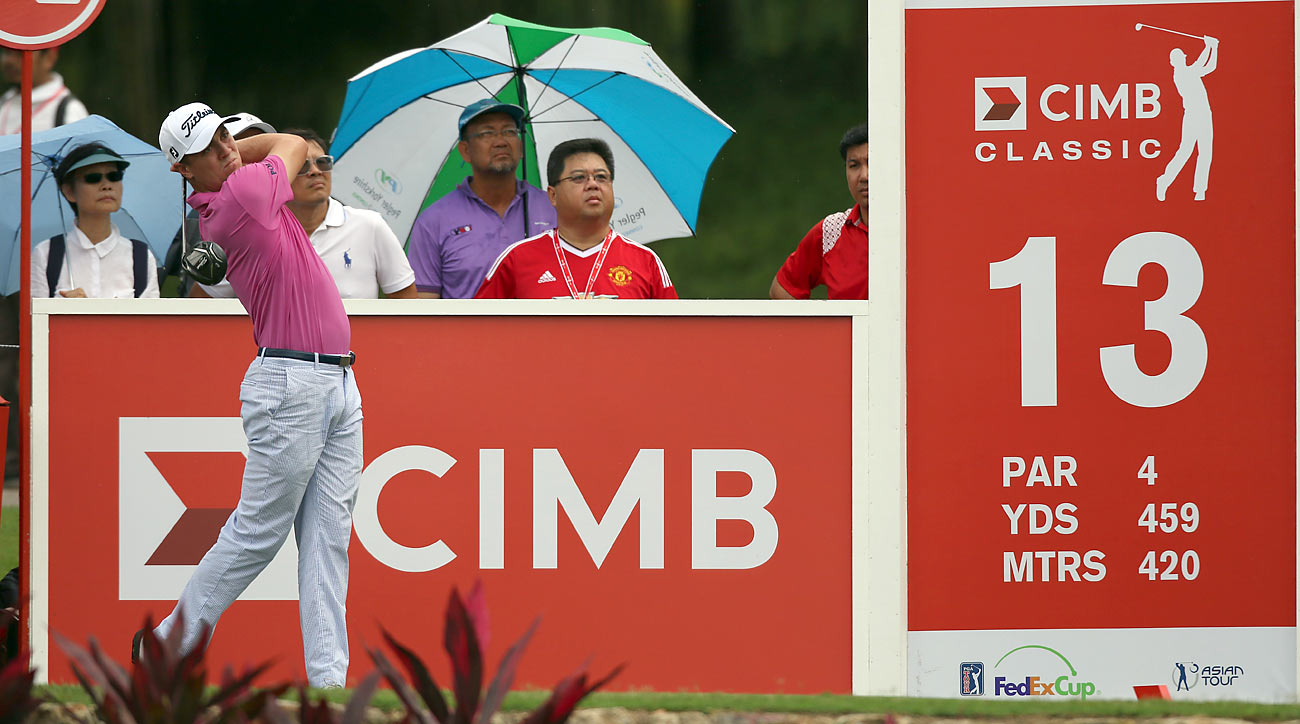 Justin Thomas shot a two-under 70 in Round 1 at the CIMB Classic.