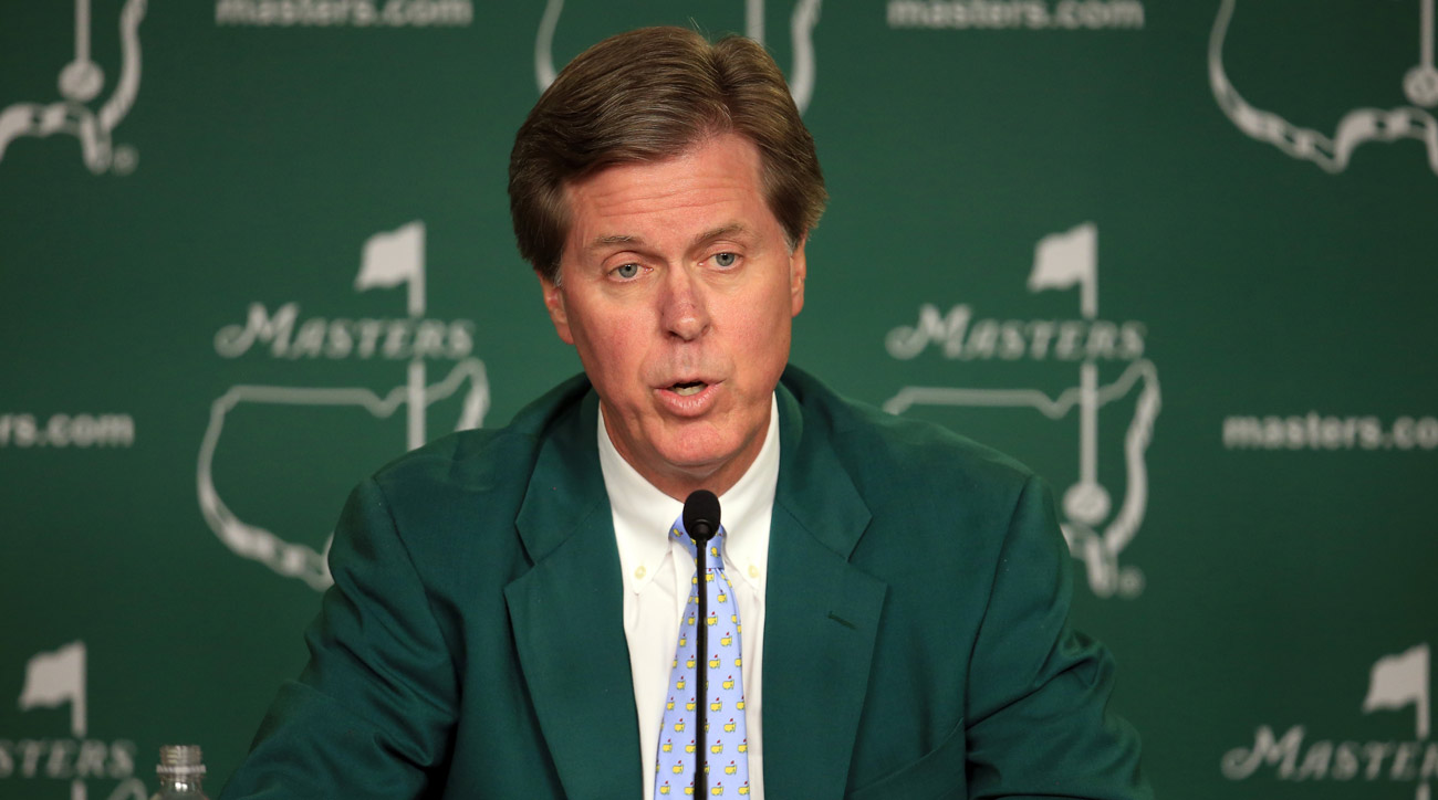 Augusta National Chairman Fred Ridley began his tenure Monday morning.