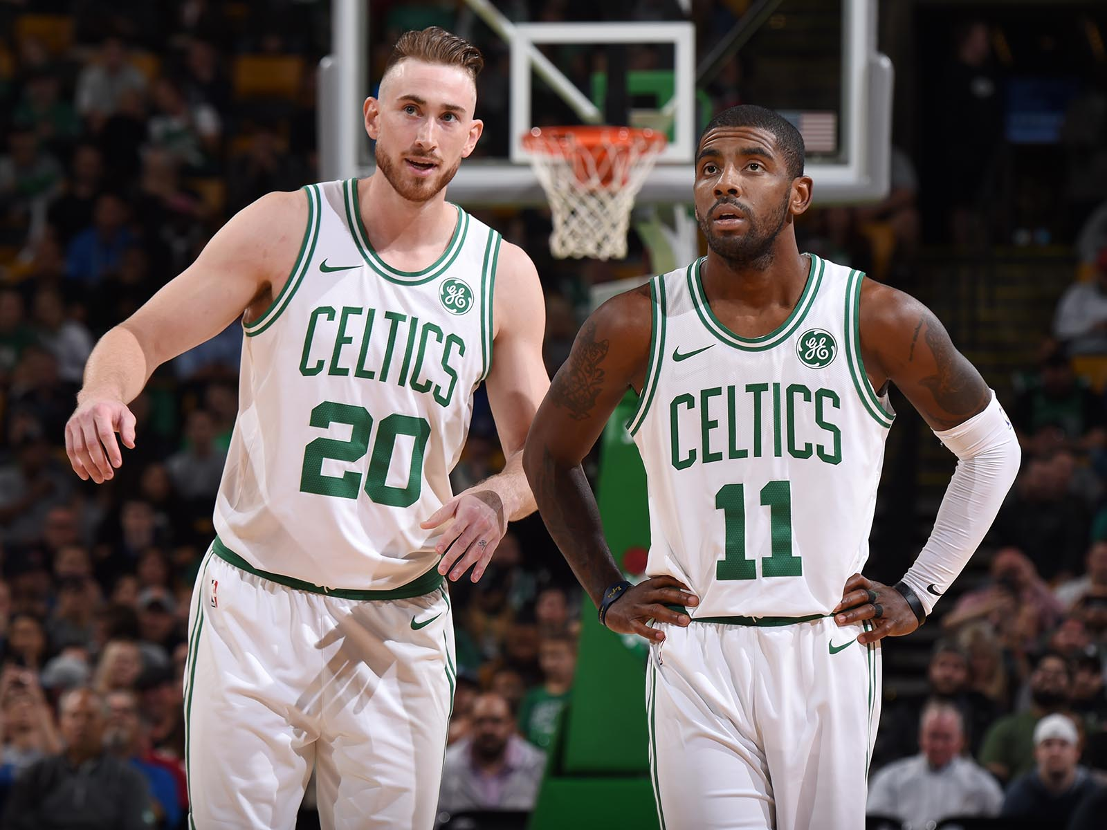 Gordon Hayward and Kyrie Irving