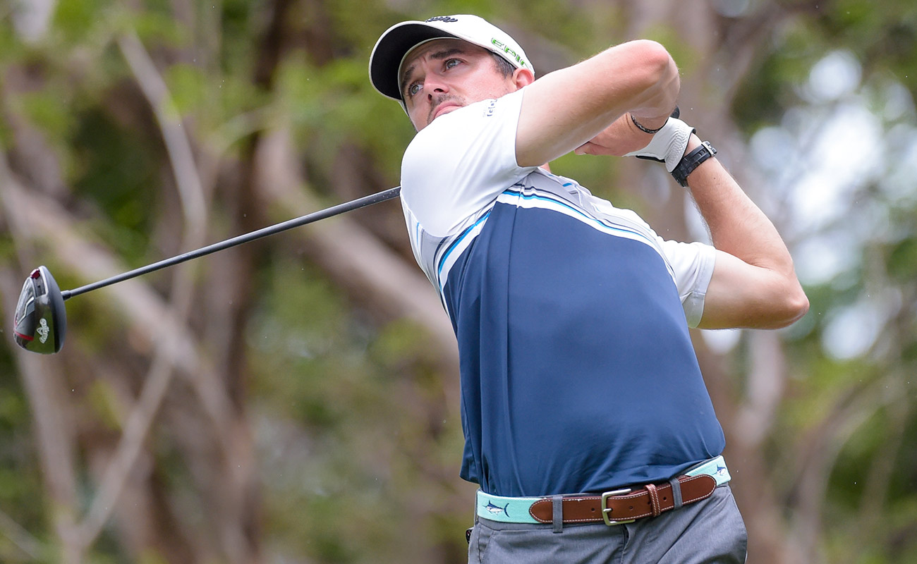 George Bryan was hit with a one-stroke penalty during his opening round in Peru.