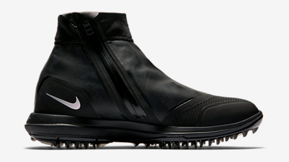 The Nike Lunar Vaporstorm ($180, nikegolf.com) is specially designed for cold and wet conditions.
