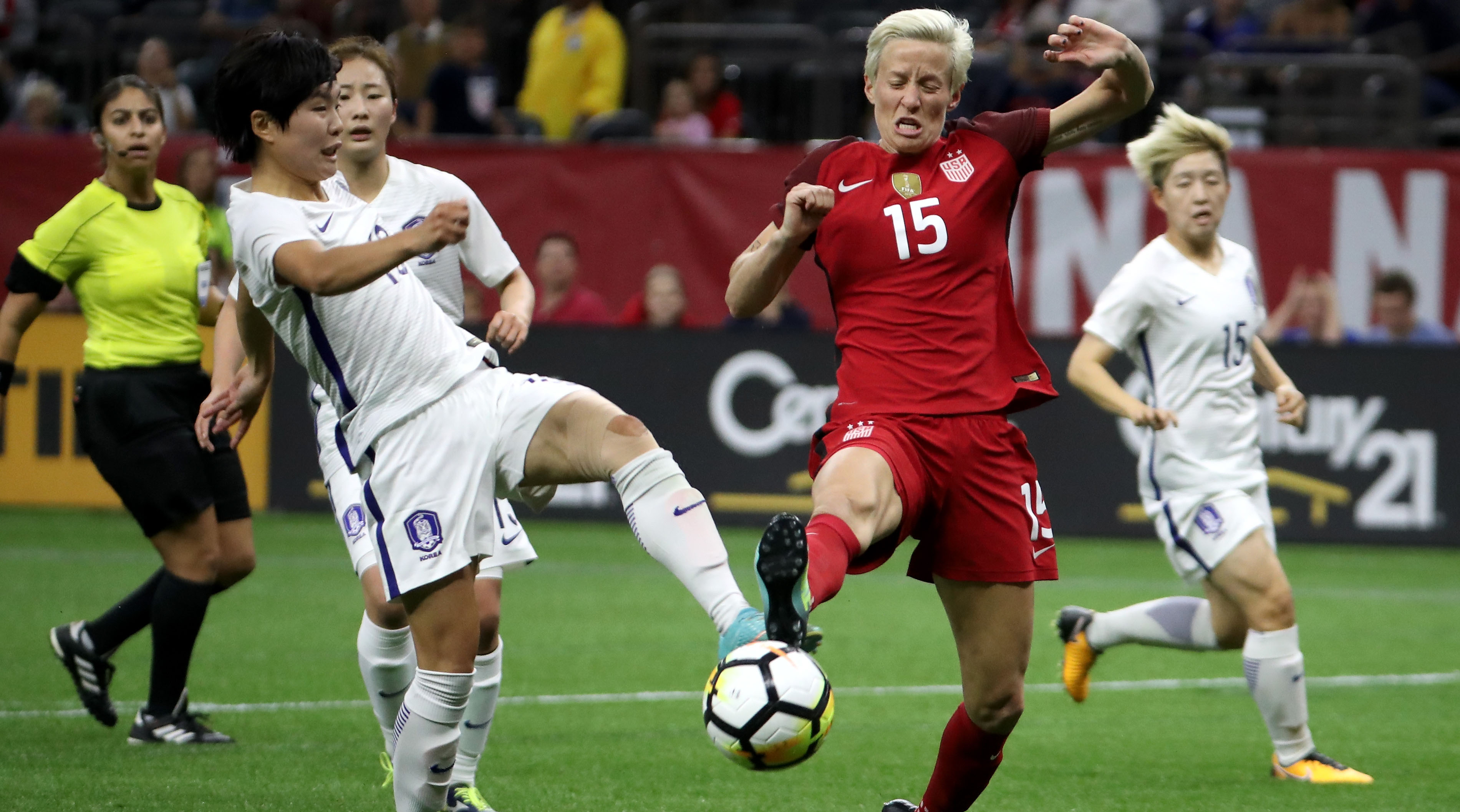 Watch: Highlights From USA's 3-1 Win Over South Korea