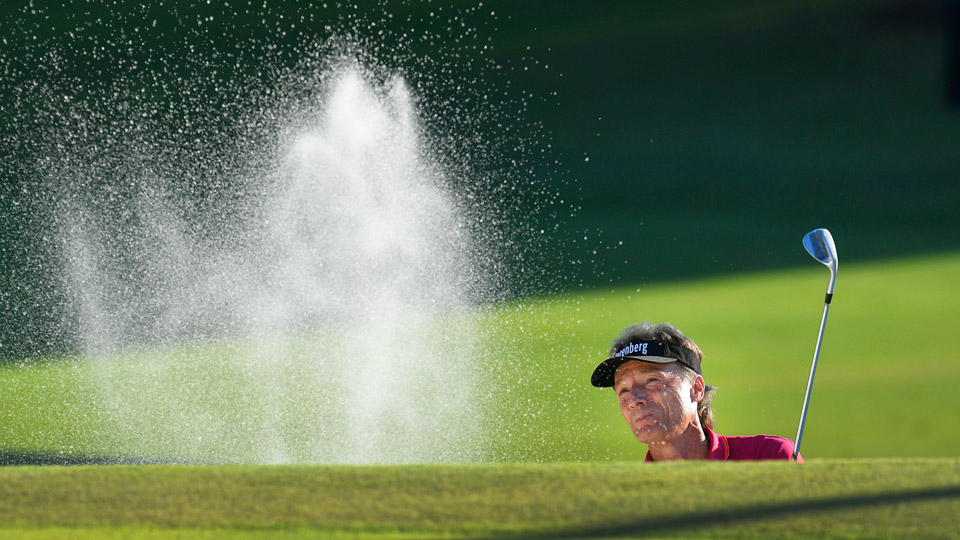 Bernhard Langer was bogey-free in the opening round of the Dominion Energy Charity Classic.