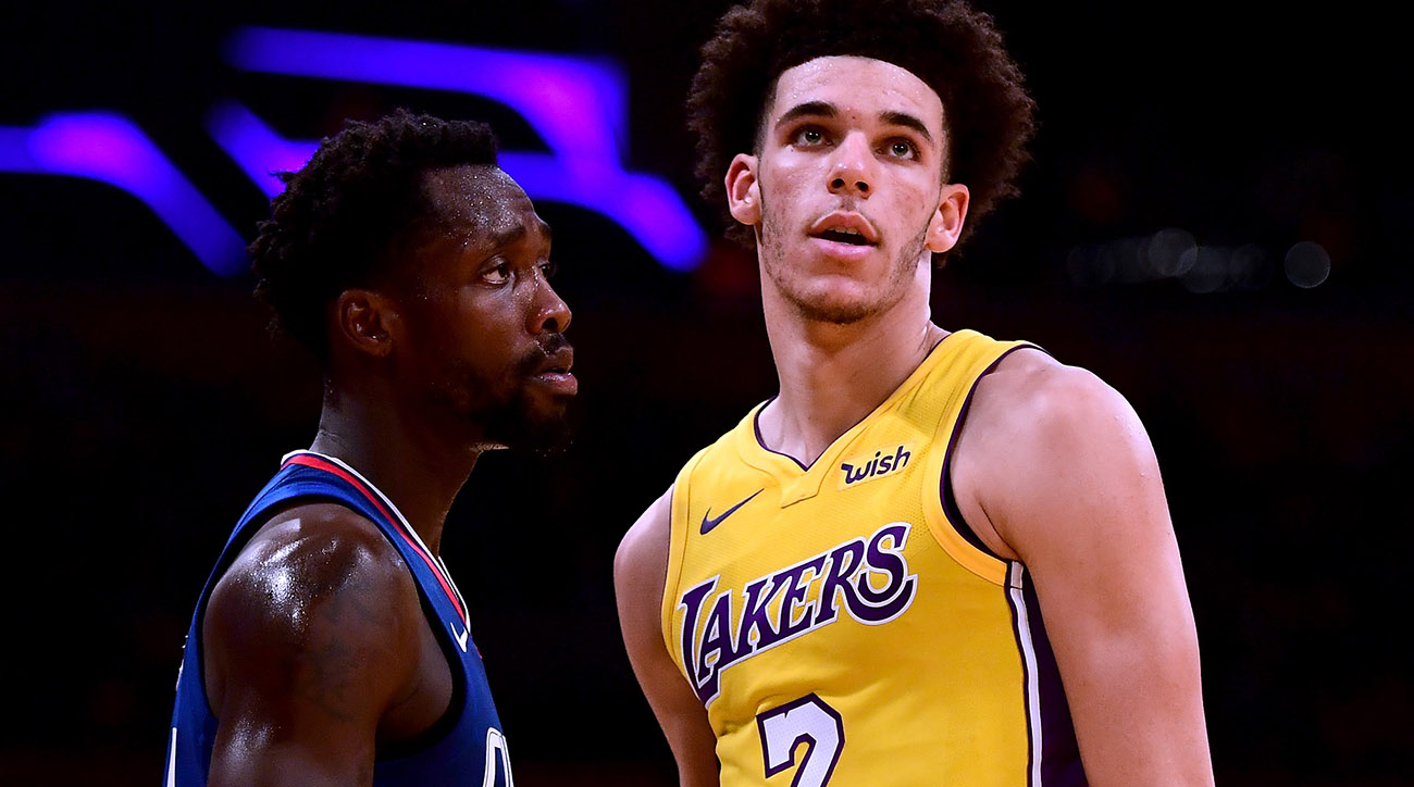 Beverley gives Ball a rude welcome to the NBA