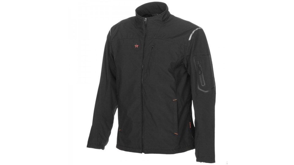 The Mobile Warming Men's Alpine Heated Jacket ($219.99; mobilewarming.com) is windproof, water-resistant and has four different heat settings.