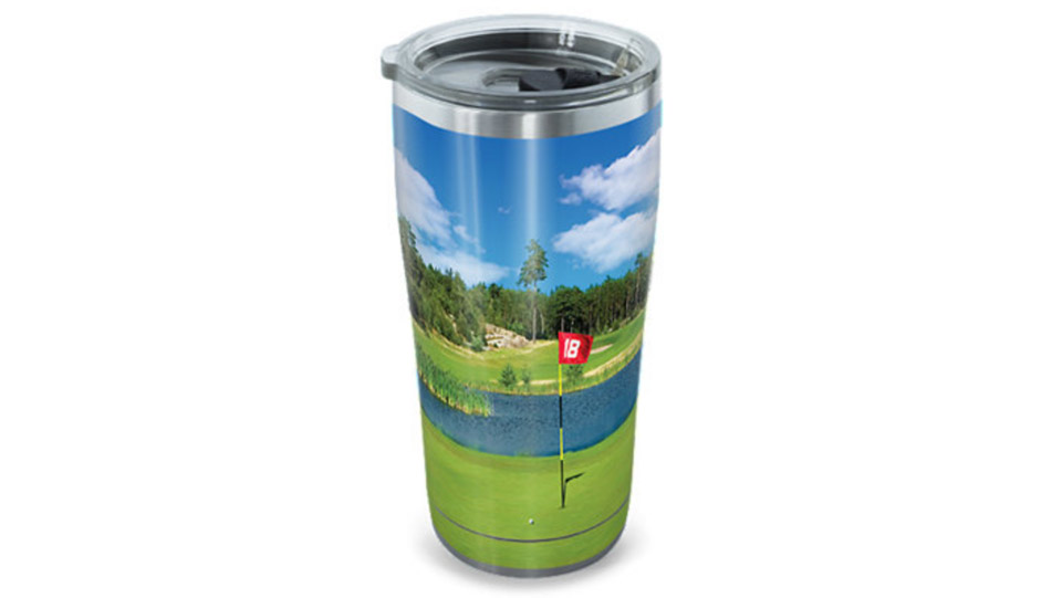 The 20-ounce Tervis Stainless Steel Tumbler ($24.99; tervis.com) is a must-have on hot days.