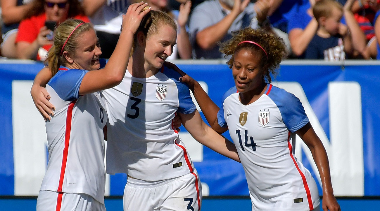 WATCH: Mewis Scores Twice Early, USWNT Routs South Korea in Friendly