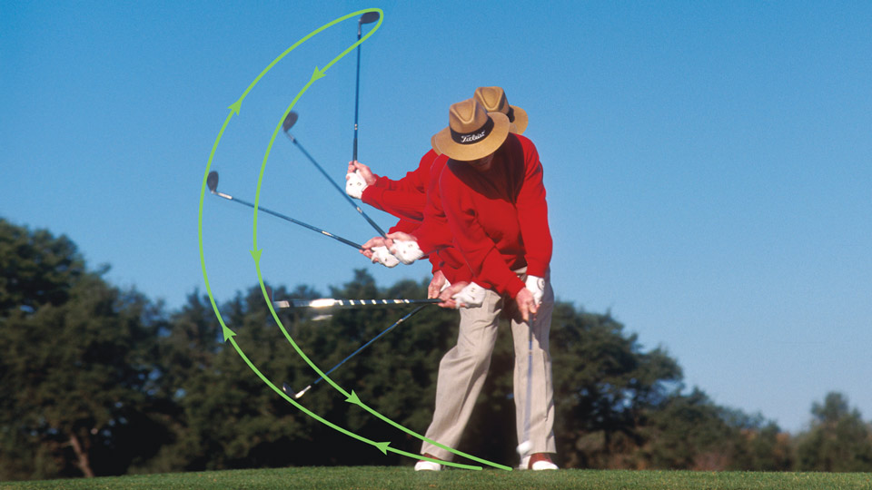 Perfect ball position leads to perfect wedge contact. Just ask Tom Kite.