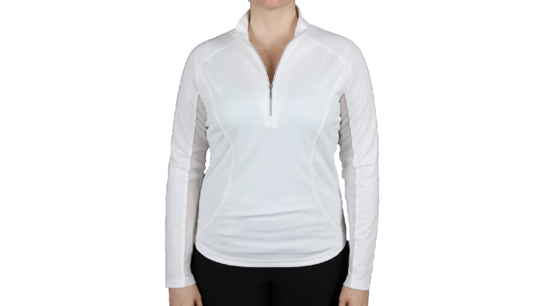 Pebble Beach Women's UPF 50 1/4 Zip Pullover.
