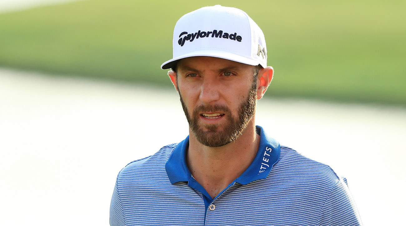 World No. 1 Dustin Johnson is in action in China this week.