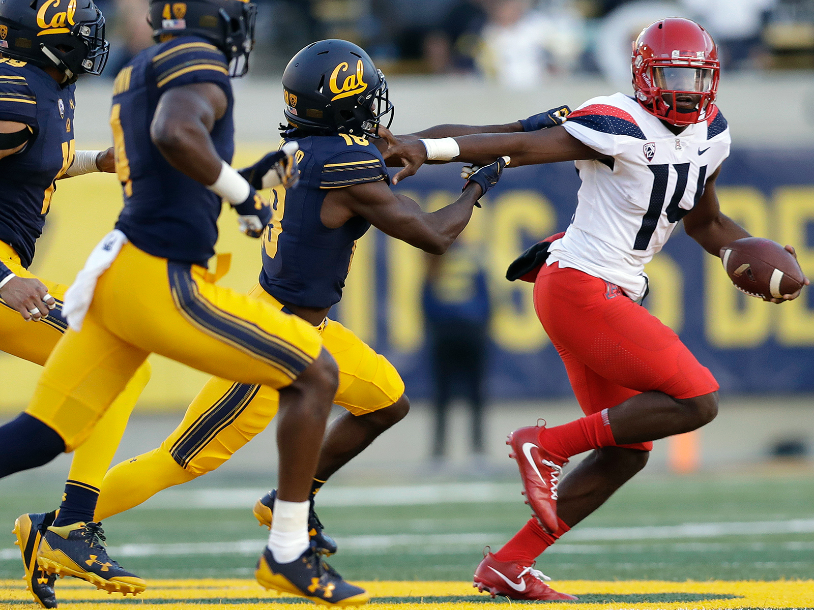 Khalil Tate has been a nearly unstoppable dual threat since Arizona installed him as the starting quarterback.