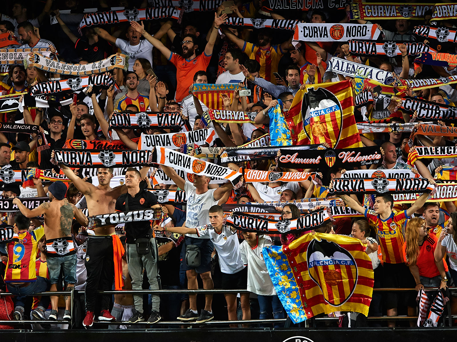 Valencia fans have plenty to cheer about at the Mestalla this season