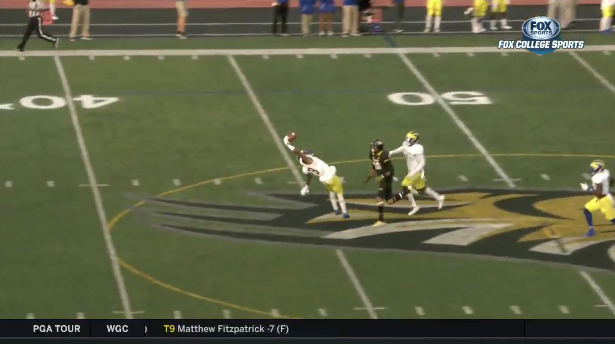 Delaware football's Nasir Adderley makes catch (video)