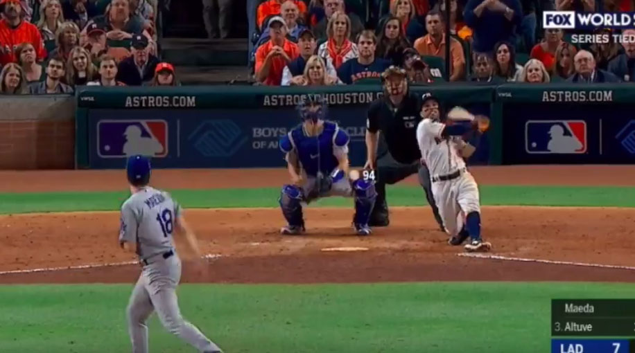Jose Altuve: Astros second basemen hits game-tying homer ...