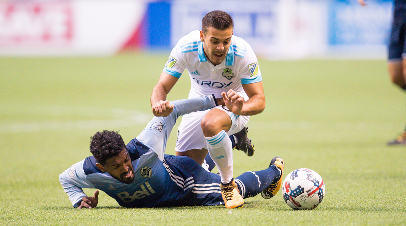 With Neither at Their Best, Seattle and Whitecaps Lurch to a Scoreless Draw in First Leg