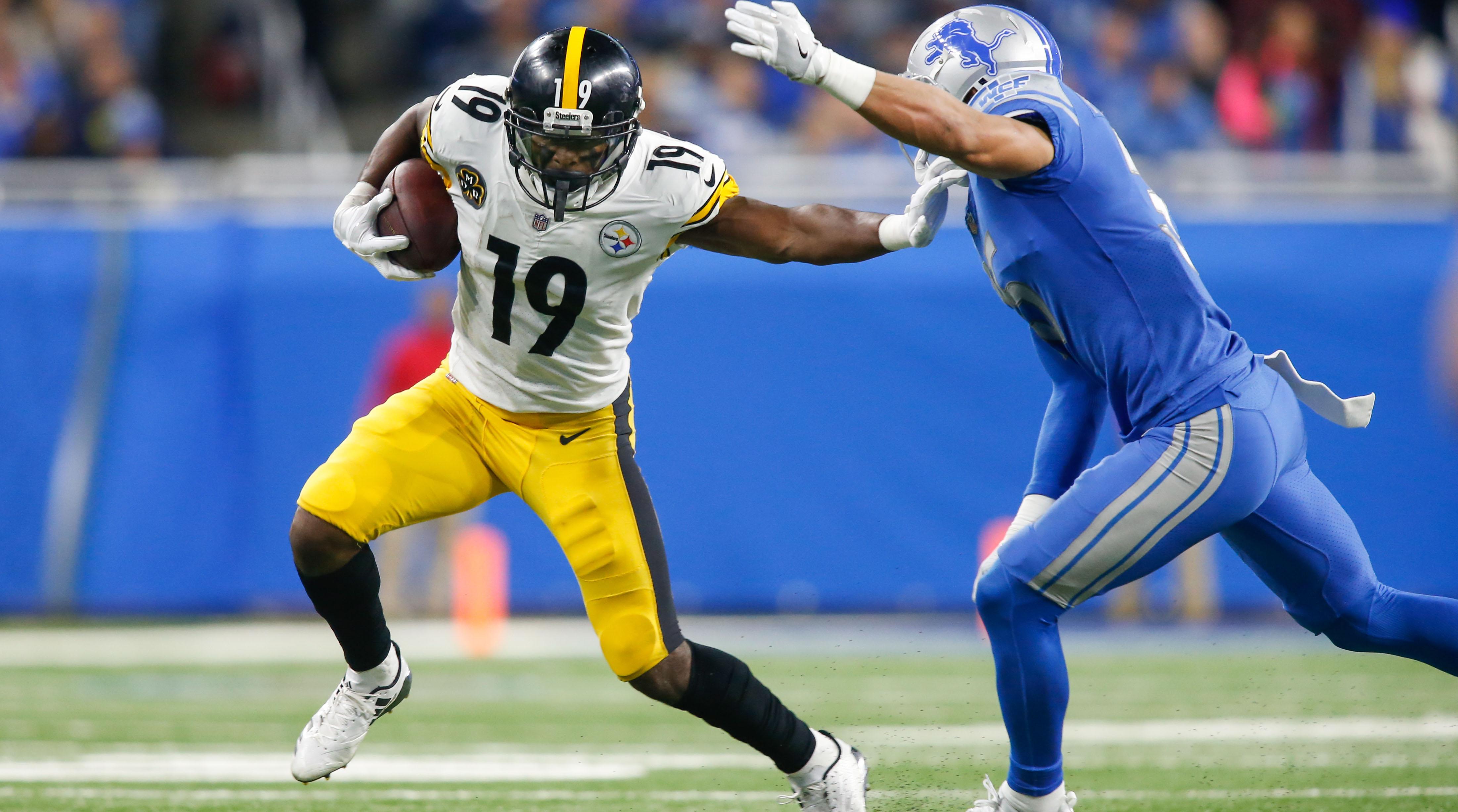 Juju Smith Schuster >> JuJu Smith-Schuster: Steelers WR talks fantasy football and Madden | SI.com