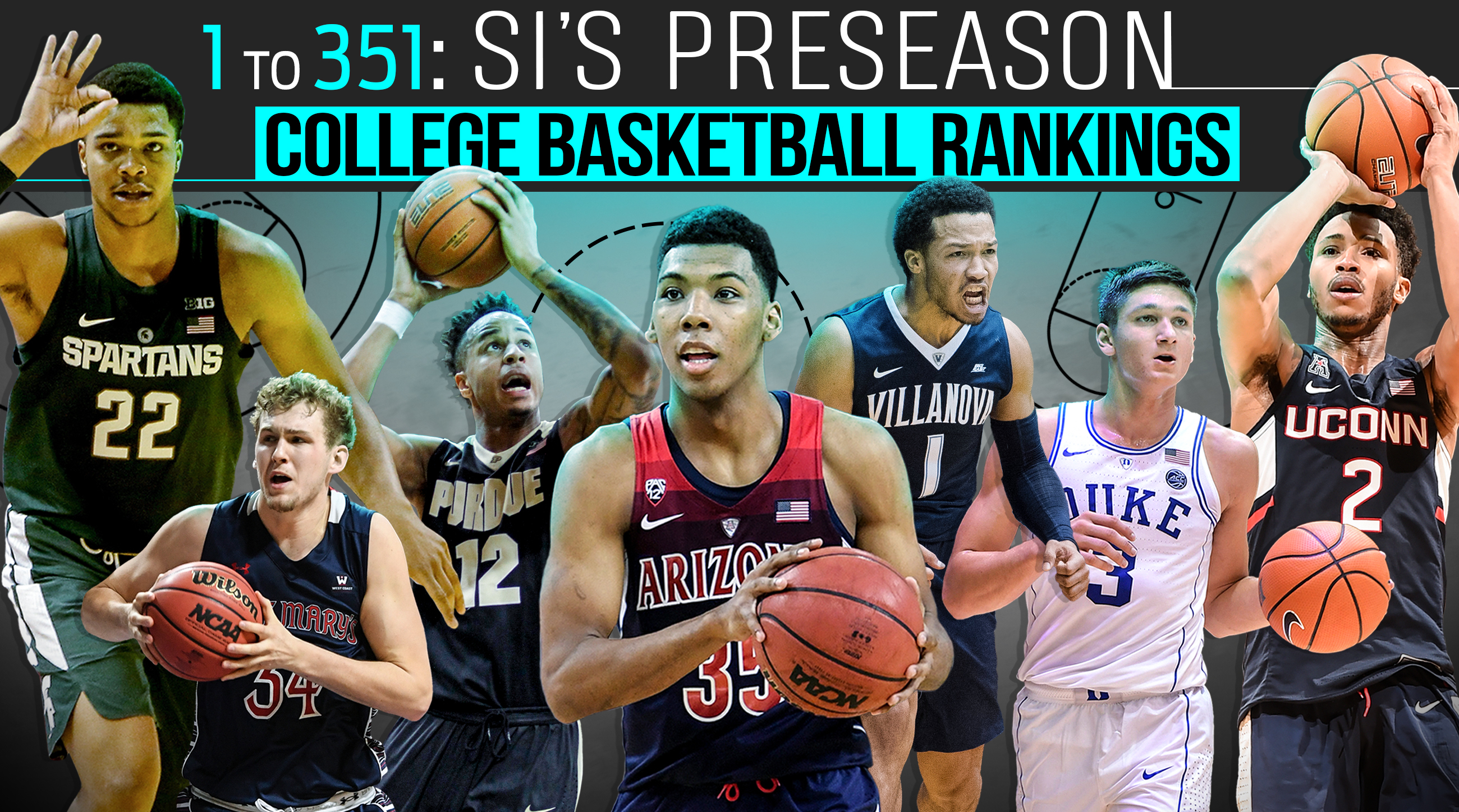 College Basketball Rankings All 351 Division I Teams Si Com