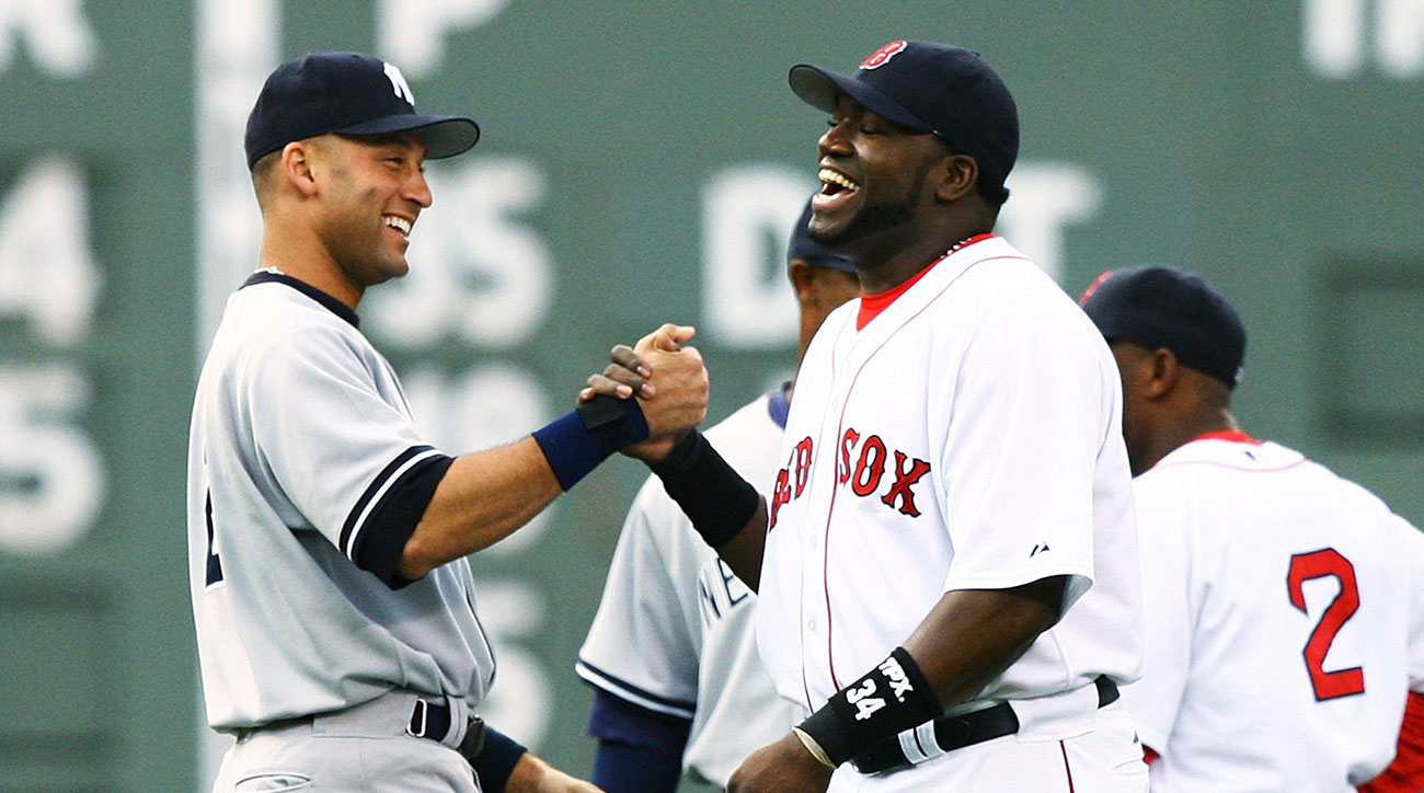 david ortiz derek jeter yankees