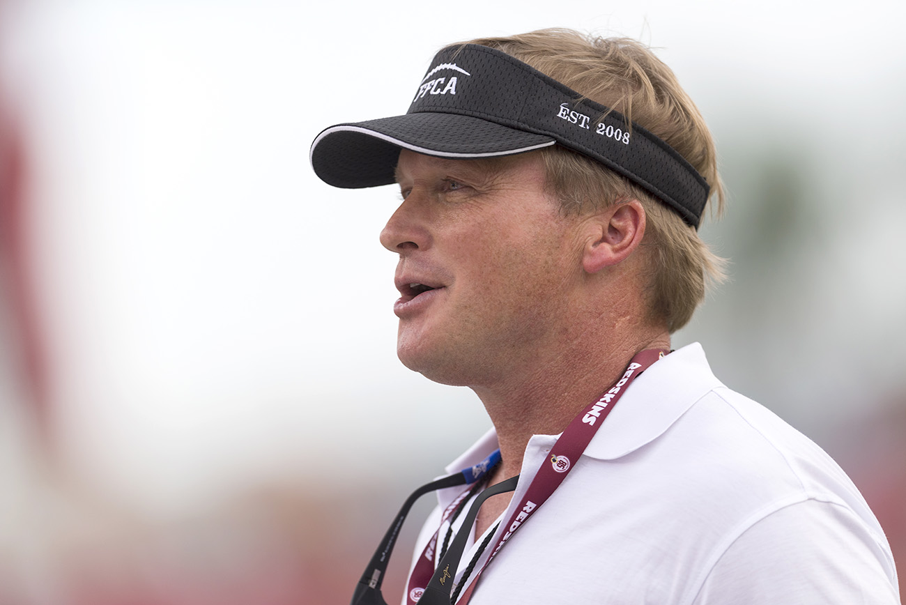 Gruden could be in the mix for two SEC jobs—if the schools are willing to pay up.