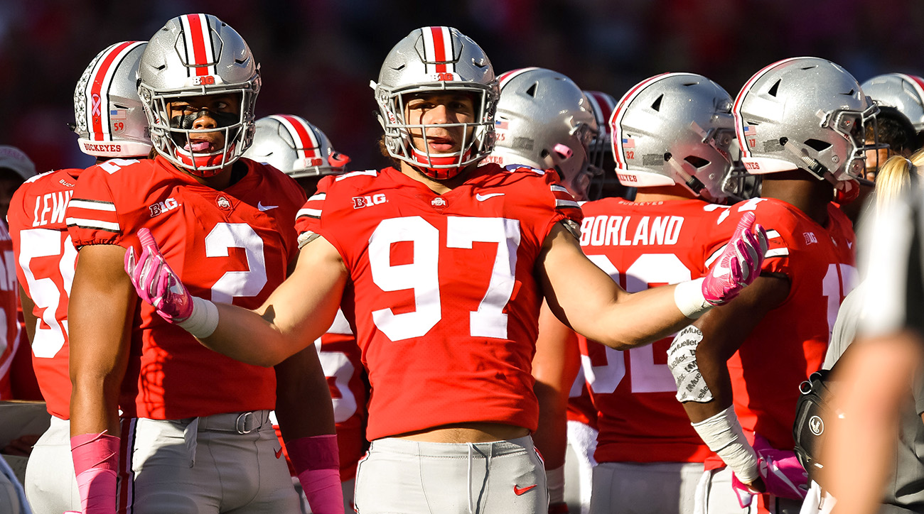 Ohio state defensive line nfl draft prospects si though neither will be eligible for the 2018 draft nick bosa no 97 voltagebd Choice Image