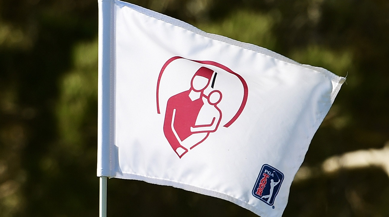 A flag at the Shriners Hospitals for Children Open.