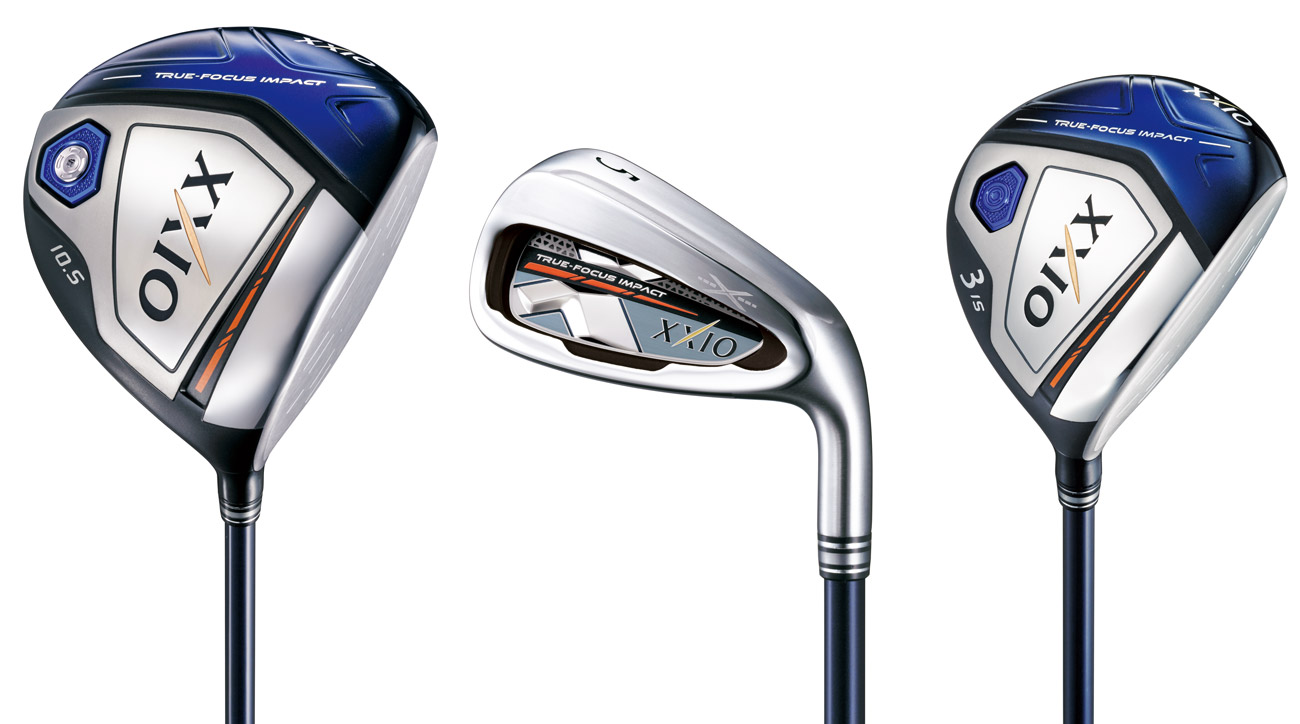 The new XXIO X line of clubs.