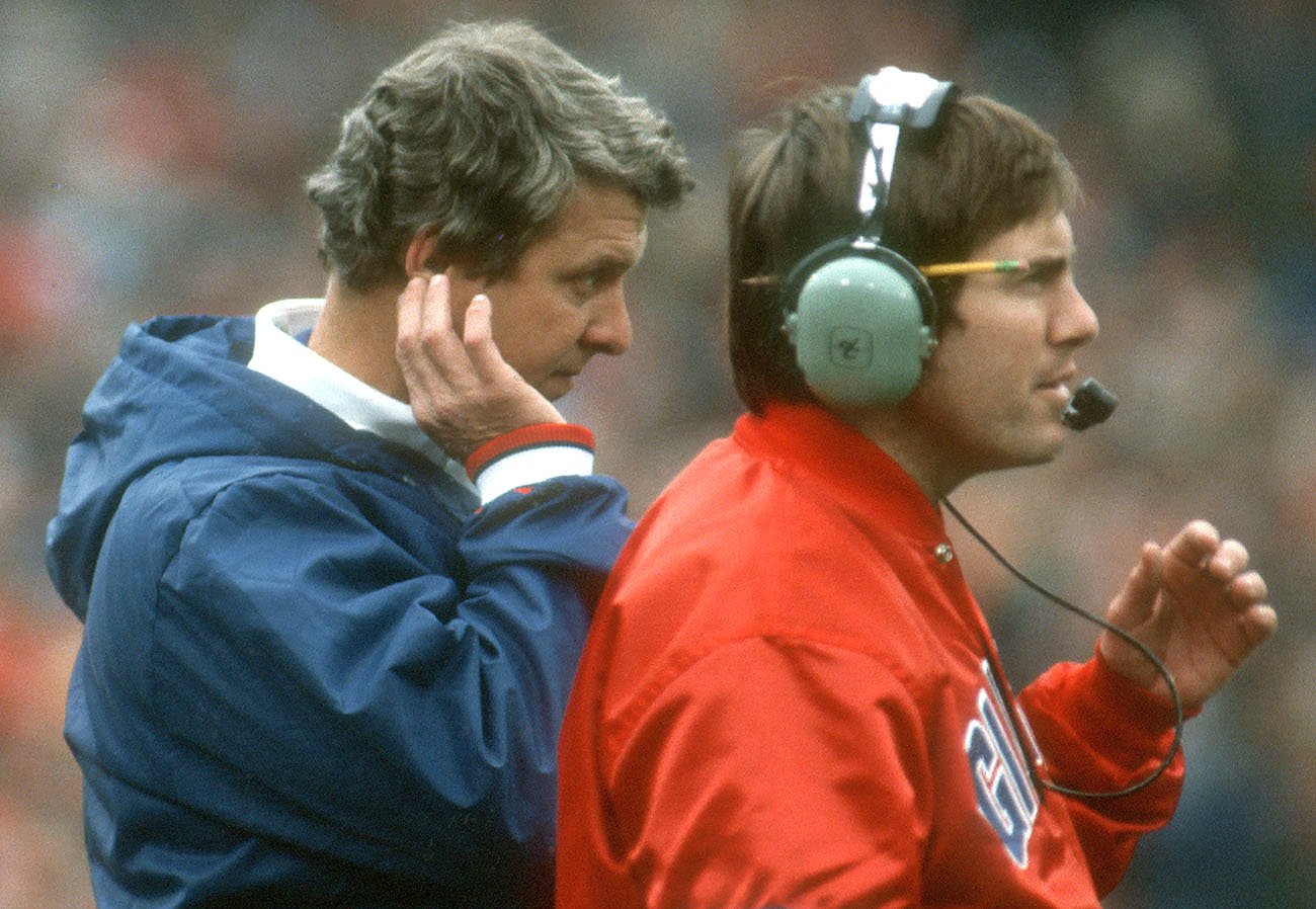 Bill Parcells and Bill Belichick