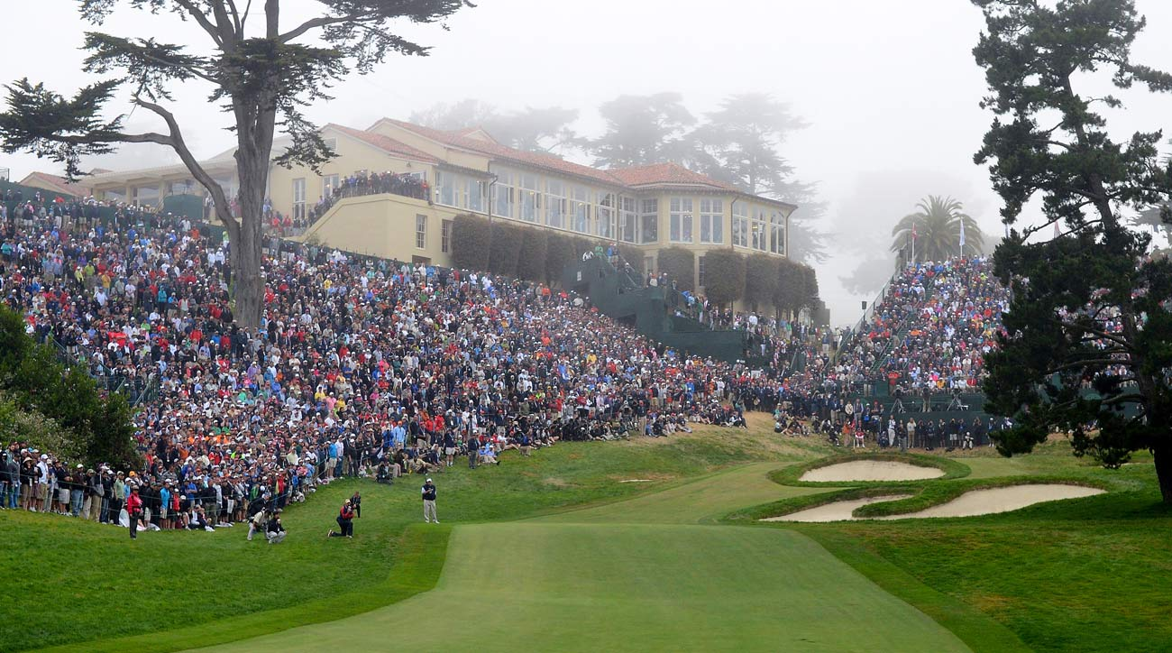 The Olympic Club in San Francisco hosted the 2012 U.S. Open won by Webb Simpson.