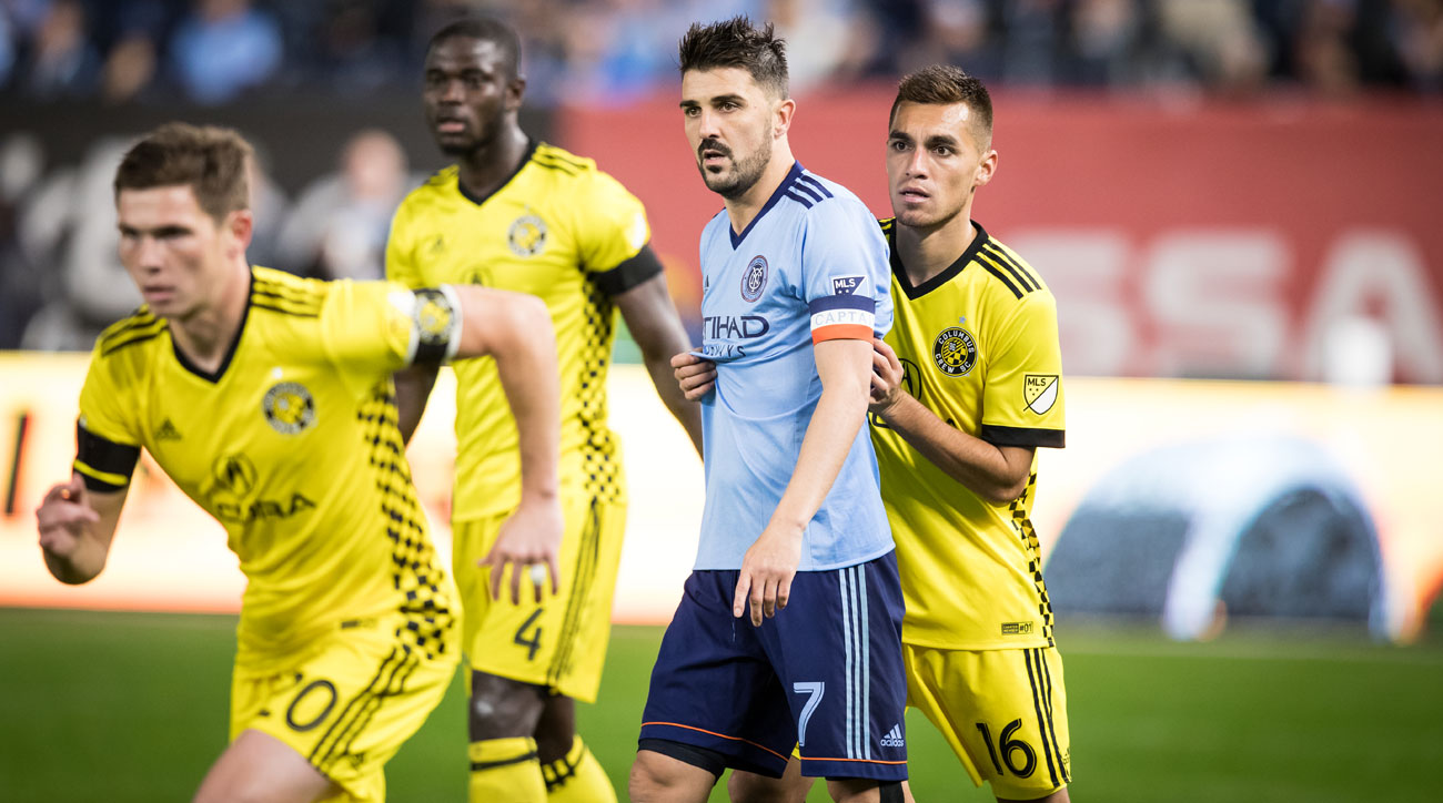 NYCFC Nearly Come Back but Crew Hold on to Continue Plot-Filled Playoff Run