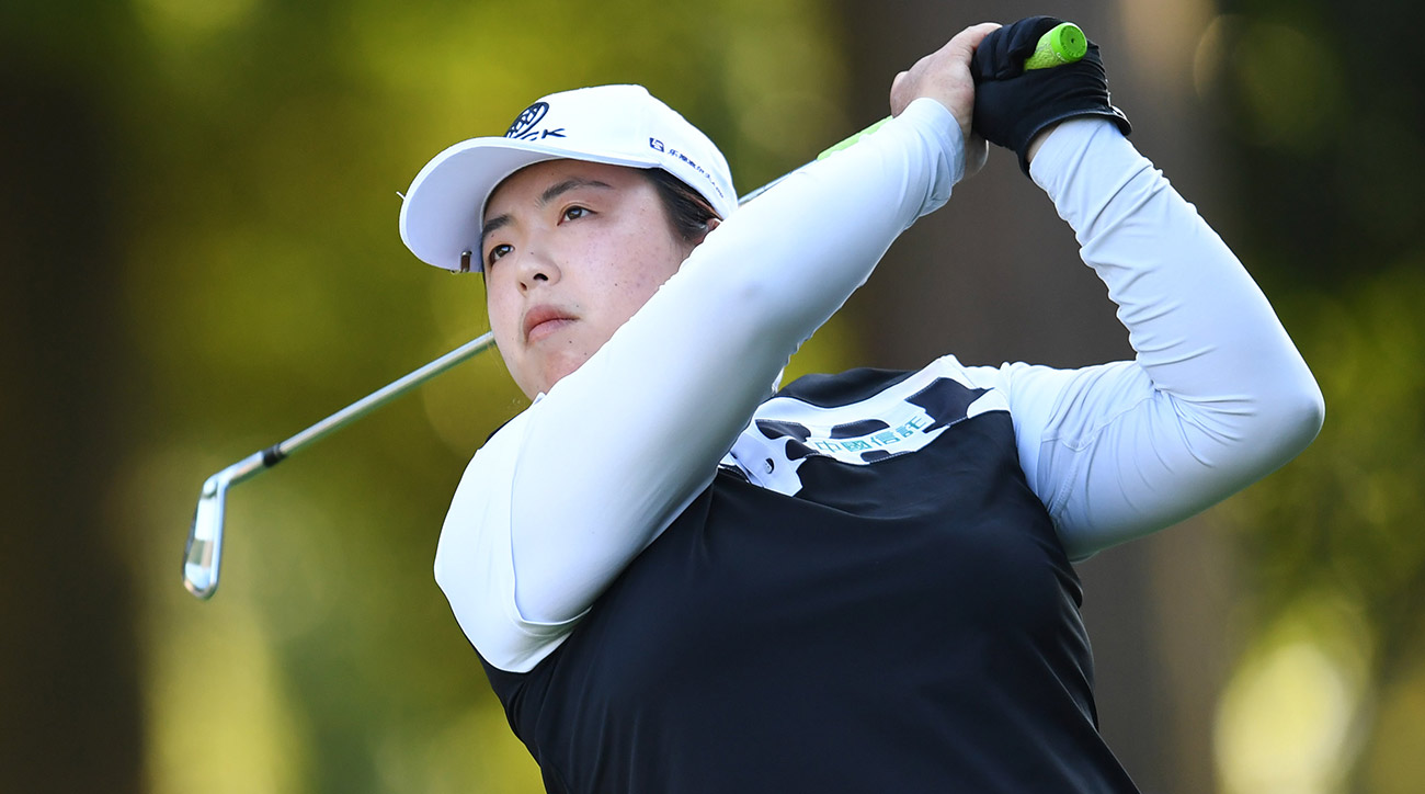 Shanshan Feng won the Japan Classic on Sunday.