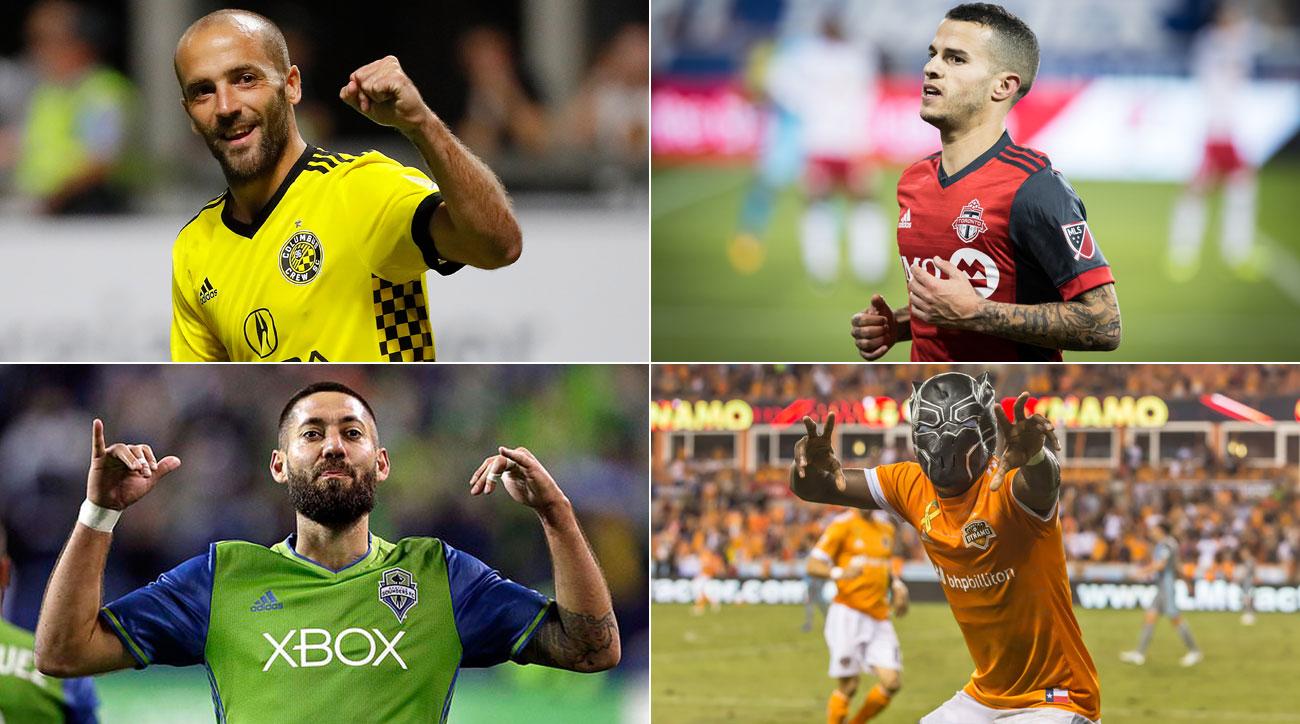 MLS's Final Four: Toronto FC vs. Columbus Crew; Seattle Sounders vs. Houston Dynamo