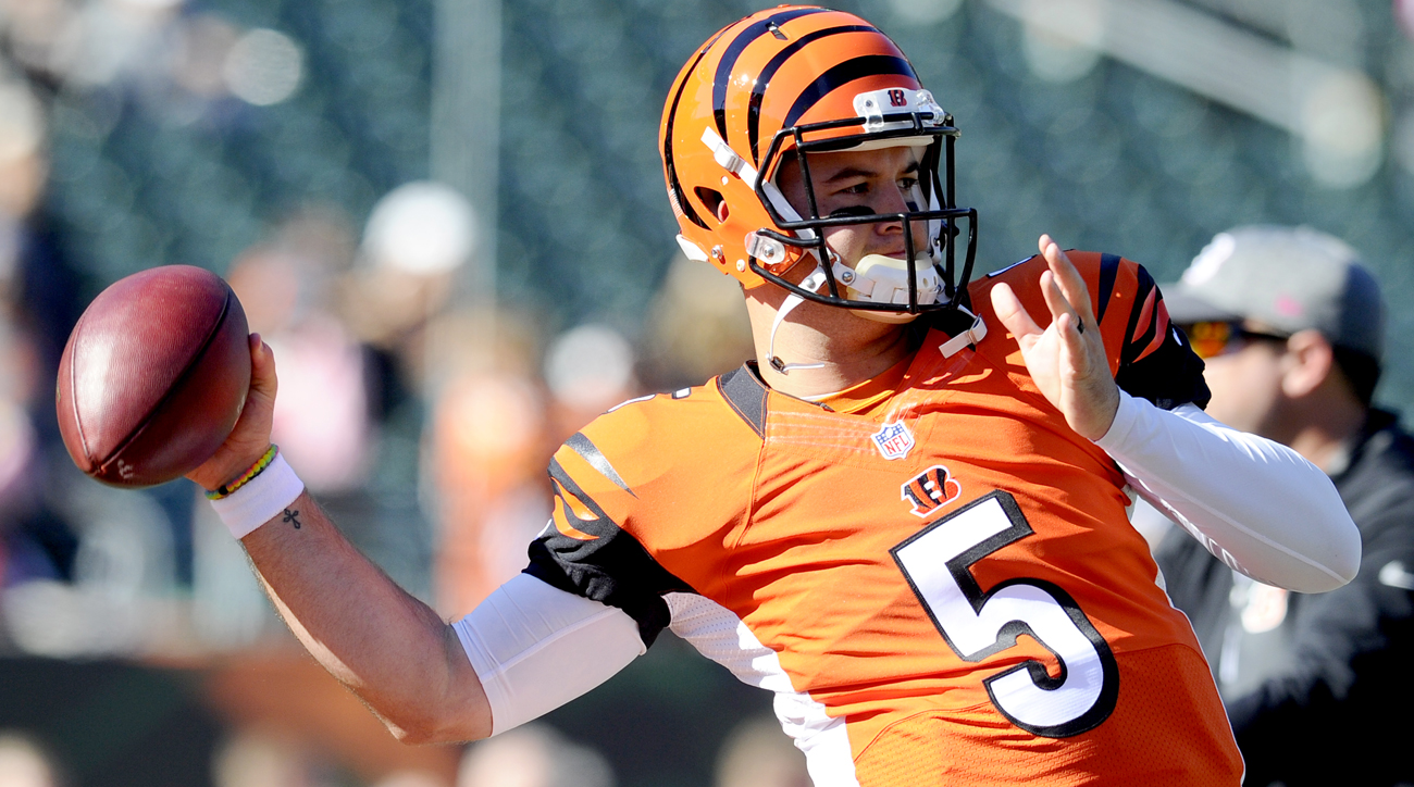 A.J. McCarron has filed a grievance against the Bengals and is seeking to become an unrestricted free agent after the season.