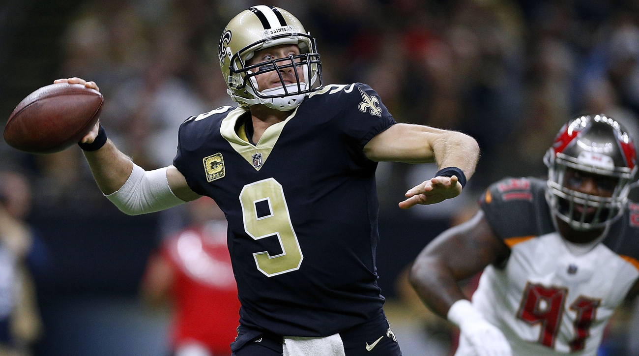 Off to a 6-2 start, Drew Brees is trying to lead the Saints to their first playoff appearance since the 2013 season.