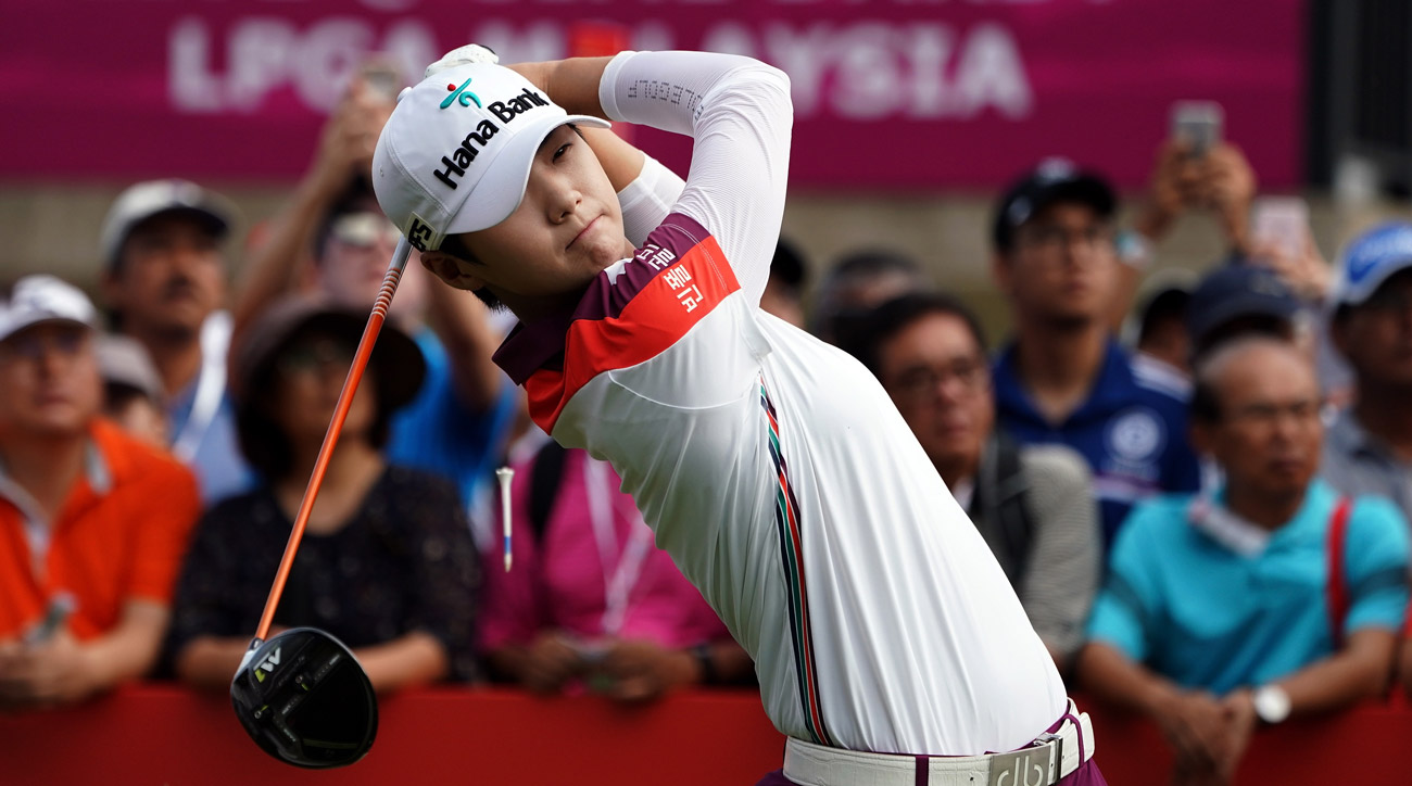 Sung Hyun Park in action during day four of the 2017Sime Darby LPGA Malaysia at TPC Kuala Lumpur East Course